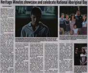 """Heritage Minutes showcase and celebrate National Aboriginal Day"""