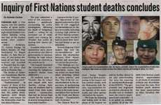 """Inquiry of First Nations student deaths concludes"""