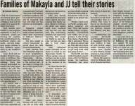 """Families of Makayla and JJ tell their stories"""