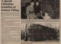 """A special Christmas breakfast at Kanata Village"""