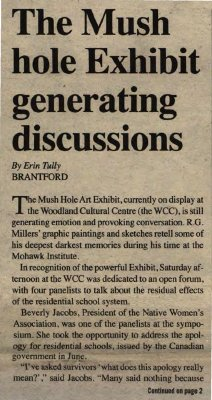 """The Mush hole Exhibit generating discussions"""