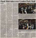 """Flash mob takes over Lynden Park Mall"""