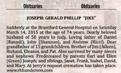 "Joseph, Gerald Phillip ""Jike"""