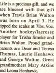 Walton, Travis Brian