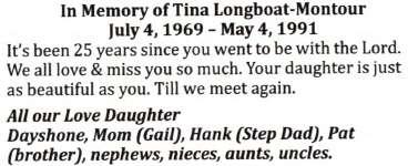 Longboat-Montour, Tina