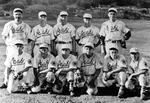 Group Portrait of the Asahi Baseball Team