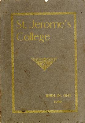 St. Jerome's College Calendar 1909
