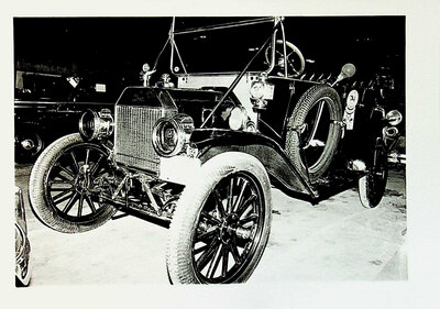 Photograph of an Antique vehicle