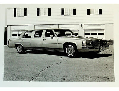 Photographs of Weaver Family Funeral Home Limo, Campbellford