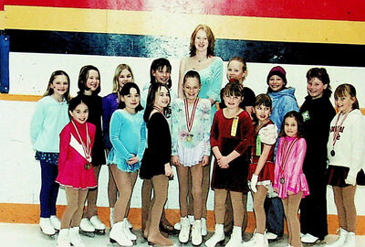Photograph of a Figure Skating Class, Stirling