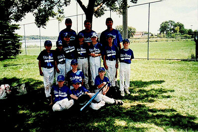 Photograph of Stirling Baseball Team