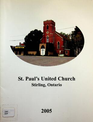 St. Paul's United Church, Stirling, Ontario, 2005