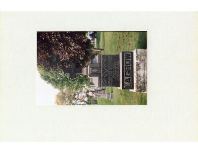 St. James Roman Catholic Cemetery Headstone Photos (Blue Album)