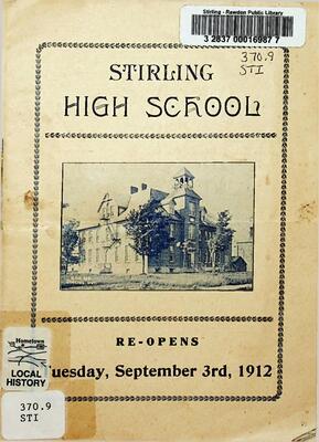Stirling High School, 1912