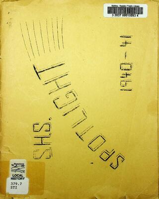 S.H.S Spotlight, 1940-41