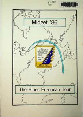 Midget 86, The Blues European Tour