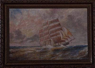 Untitled (ship at sea)