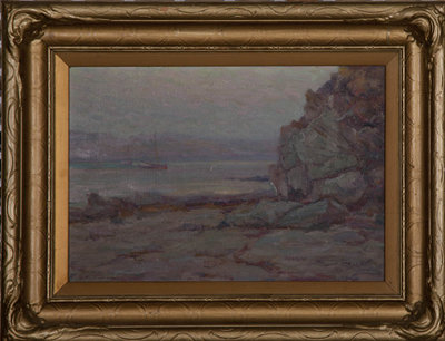 untitled (rocky bluff) G.2000.02.03