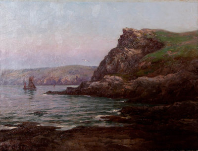 Nearing the Harbour, Fowey, Cornwall