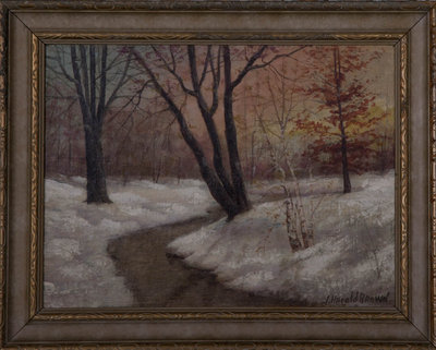 The First Snow, Sunset, Sherman Creek