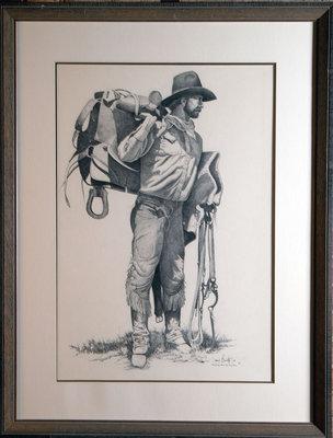 Prestudy of the Cowboy