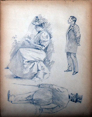 John S Gordon, Sketchbook, page 10 of 49