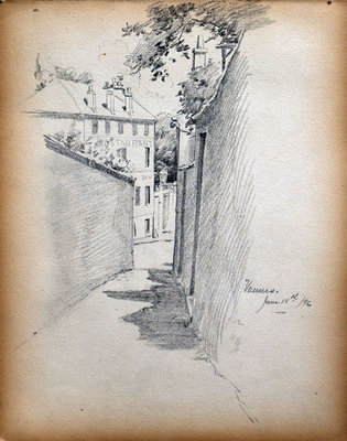 John S Gordon, Sketchbook, page 7 of 39