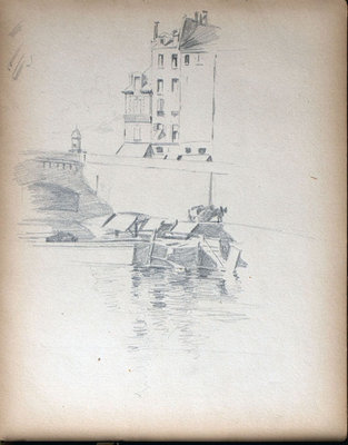 John S Gordon, Sketchbook, page 15 of 39