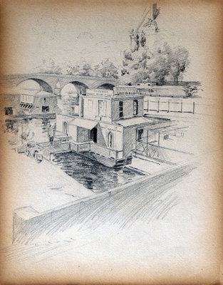 John S Gordon, Sketchbook, page 17 of 39