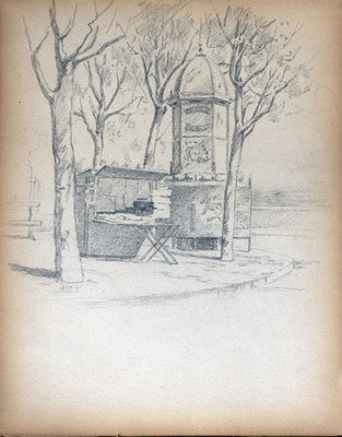 John S Gordon, Sketchbook, page 23 of 39