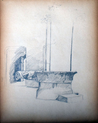 John S Gordon, Sketchbook, page 26 of 39