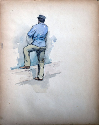 John S Gordon, Sketchbook, page 27 of 39