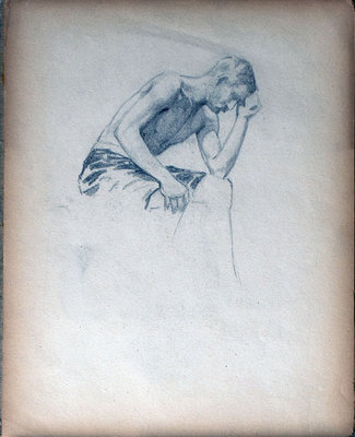 John S Gordon, Sketchbook, page 36 of 39