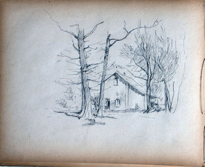 John S Gordon, Sketchbook, page 37 of 39