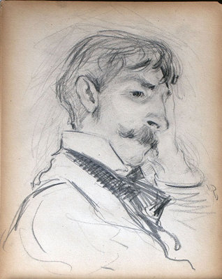 John S Gordon, Sketchbook, page 38 of 39