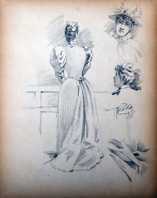 John S Gordon, Sketchbook, page 35 of 39