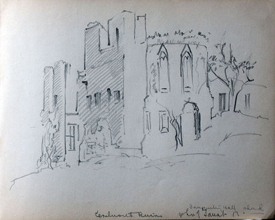 John S. Gordon, Sketchbook, page 19 of 51