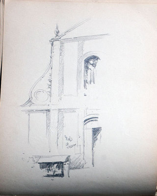 John S. Gordon, Sketchbook, page 23 of 51