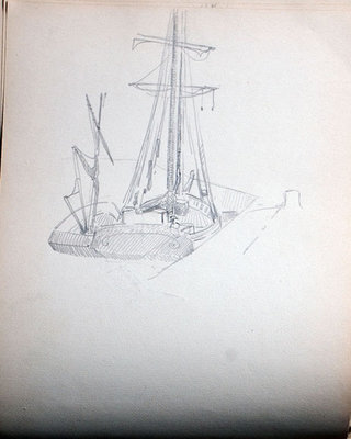 John S. Gordon, Sketchbook, page 25 of 51