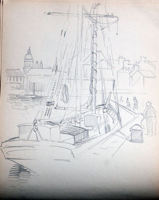 John S. Gordon, Sketchbook, page 27 of 51