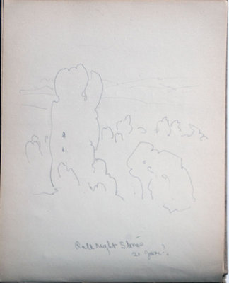 John S. Gordon, Sketchbook, page 31 of 51