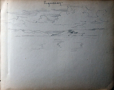 John S. Gordon, Sketchbook, page 40 of 51