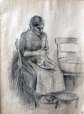 Hortense Gordon, Sketchbook, page 4 of 20