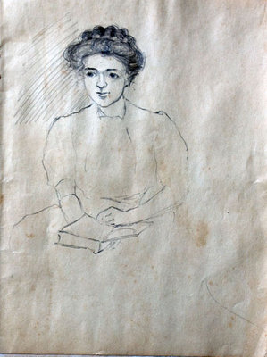 Hortense Gordon, Sketchbook, page 6 of 20
