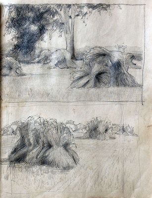 Hortense Gordon, Sketchbook, page 11 of 20