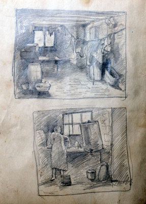 Hortense Gordon, Sketchbook, page 15 of 20