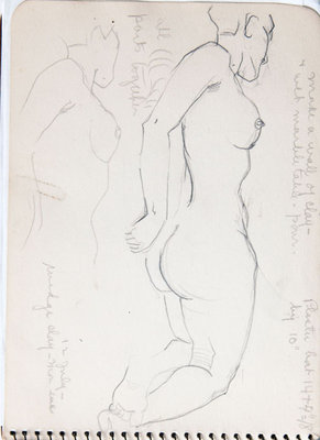 Hortense Gordon, Sketchbook, page 6 of 32