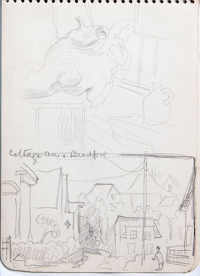 Hortense Gordon, Sketchbook, page 15 of 32
