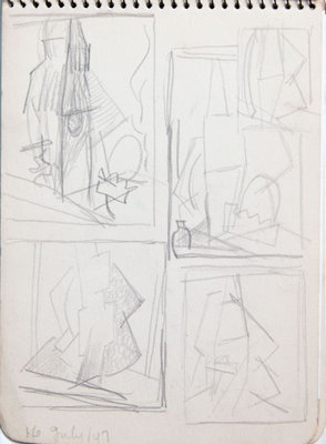 Hortense Gordon, Sketchbook, page 17 of 32