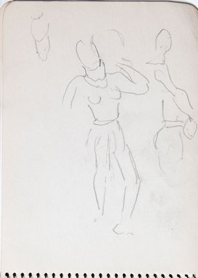 Hortense Gordon, Sketchbook, page 19 of 32